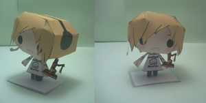Built Pewdiepie papercraft sale by DarkDragonTanis