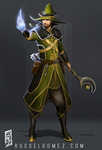 Arcane Adept Male by RusselTGomez