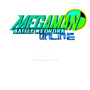Megaman Battle Network Online  logo by TheRedThunderX