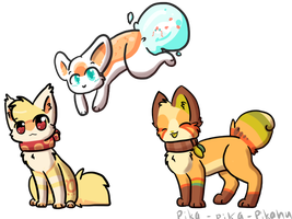 Chibi Batch For Magicpawed by Pika-Pika-Pikahu