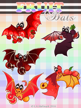 Meet The Fruit Bats by Marxis