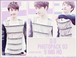 D.O (EXO) - PHOTOPACK#03 by JeffvinyTwilight