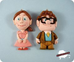 FIMO - Carl and Ellie by buzhandmade