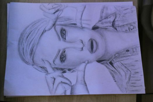 Jeffree Star drawing by Hattaayy