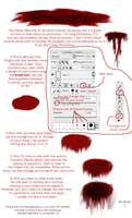 Blood Tutorial by Autumnxx