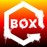BOX Game Logo paint effect by Turbogunz