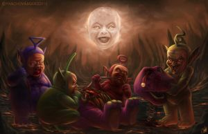 Teletubbies by Panchusfenix