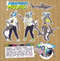 Mischief Reference Sheet by squeedgemonster