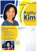 Patty Kim for City Council by dragonorion
