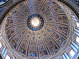 A Dome in Saint Peter's Basilica by JJPoatree
