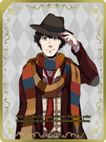 Doctor Who - The Fourth Doctor, Tom Baker by ReonMerryweather