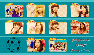 Girls' Generation (SNSD) ~Cion/Cooky Folder Pack~ by FolderOvert