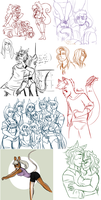 015 Doodles by Rocking-Horse-People