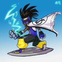 Static Shock by zeoarts