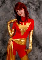 Dark Phoenix cosplay 2 by Shiera13