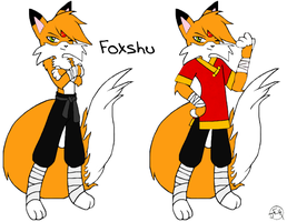 Foxshu (colored) by Midniteoil-Burning