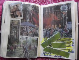1st Altered Book 31, Favorites by angelstar22