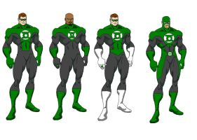 Casual Green Lantern by aburke81