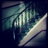 Spirit on the Staircase by elizabethunseelie