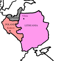 Poland, Teutons and Lithuania in 1430 by kasumigenx