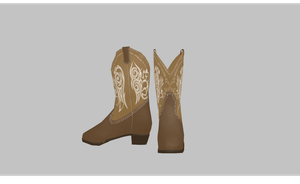 MMD Cowboy boots by amiamy111