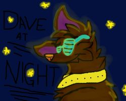 Dave At Night by jadewolf34