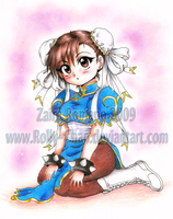 Chibi Chun Li by Rolly-Chan