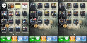iPhone 4 - my Homescreen by xyznico