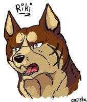 Riki by calistamonkey