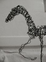 wire dog 4 by clearwater-art
