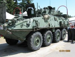 Calgary Stampede: LAV-3 by ChapterAquila92