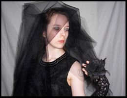 dark bride portrait 4 by dheks