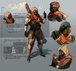 Heavy Arms Soldier - Concept Art by cymurri
