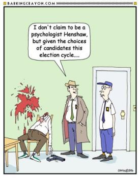 Post Election Syndrome by Conservatoons