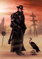 the Man in Black by StarWolfEmperial