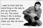 Robin Williams Quote #1 by JediSenshi