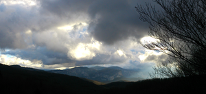 Clouds over Vercors by Alban