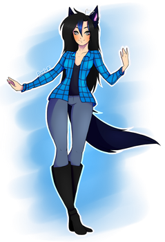 Chloe  The Wolf by PunzieFlower2002