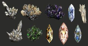 Weaponry 409 crystals by Random223