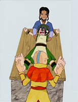 Avatar: How tough is Toph ? by princeofhalcyon by neverb4