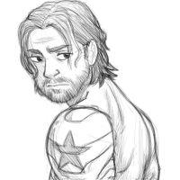 James Buchanan Barnes by pencilHeadno7