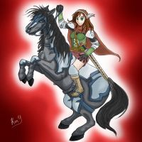The Female Knight by Kimmerze