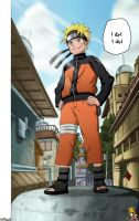 NARUTO chapter 245 colo Full by imad-LP