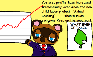 Animal Crossing is Child Labor by BlueMew210210