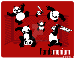 Pandamonium by EddieHolly