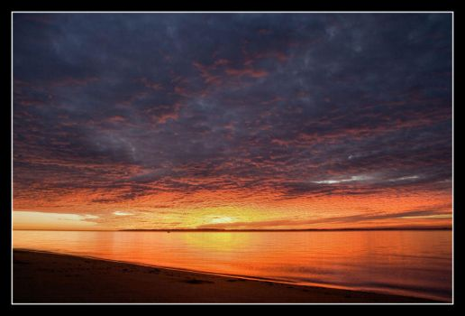 Sunrise at Redcliffe I by 2Stupid2Duck