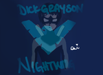 Nightwing Drawing/Doodle by DaughterOfZeus0617