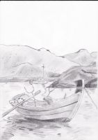 Boat by Cerera