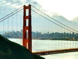 Golden Gate by thevictor2225