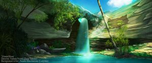 The Waterfall by LadyBkk
